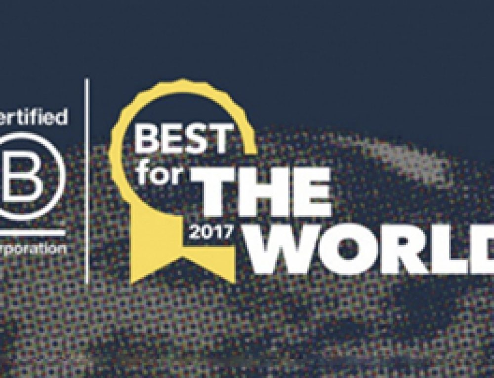 "BioTerra gana ""Best for the World"" 2017"