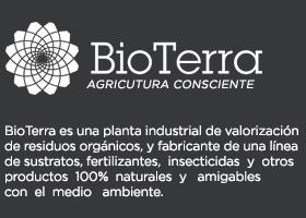 BioTerra logo y descripción