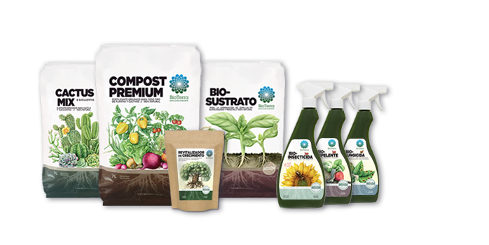 Product photo bioterra with titles