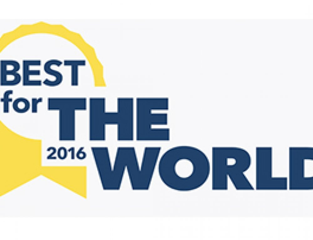 "BioTerra gana ""Best for the World"" 2016"
