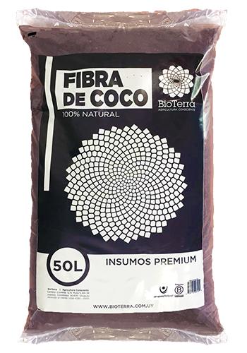 imagen de bolsa de Fibra de Coco de BioTerra